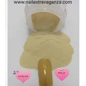#-3D-Polymer-Acrylic-Powder-Color-Green-Beige-(1oz-jar)-#PL5