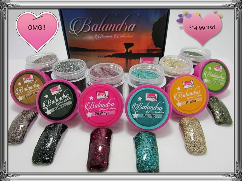 A00 Balandra Acrylic Collection from Fantasy Nails - Nail Extravaganza