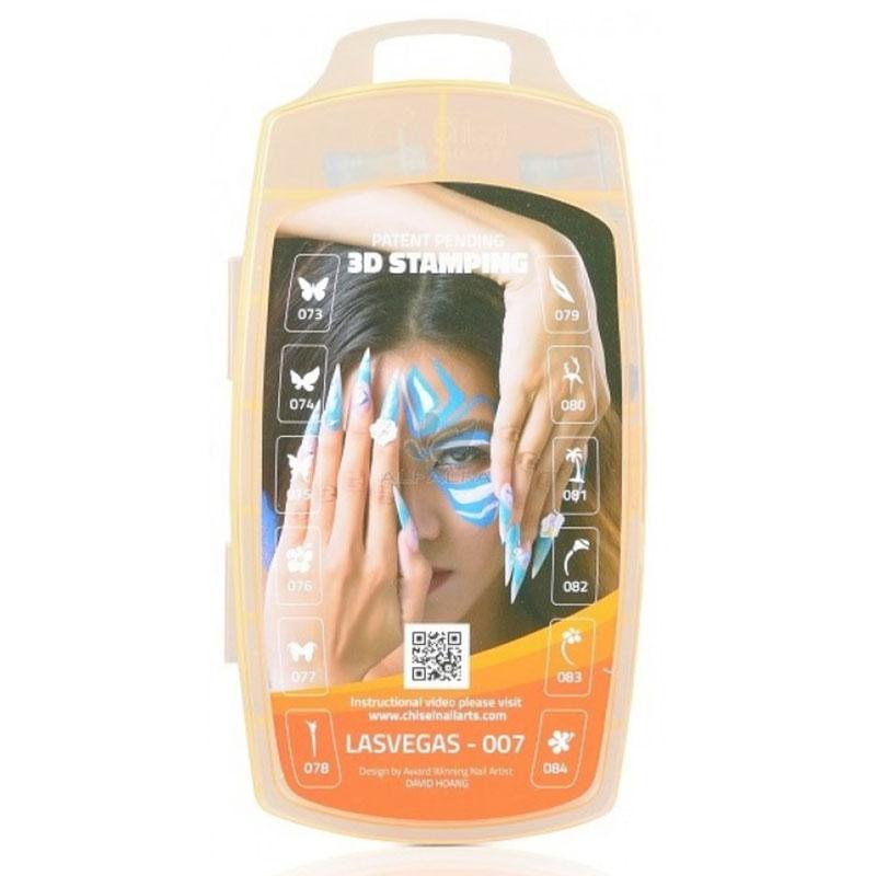 Chisel nail arts 3d nail stamping las vegas 007 nail chisel nail art las vegas 007 prinsesfo Choice Image