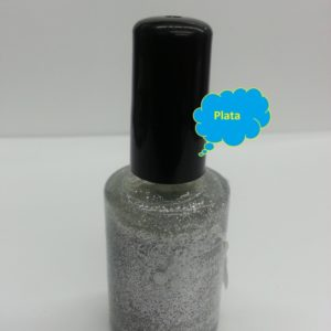 Fantasy Nails Escarcha Plata