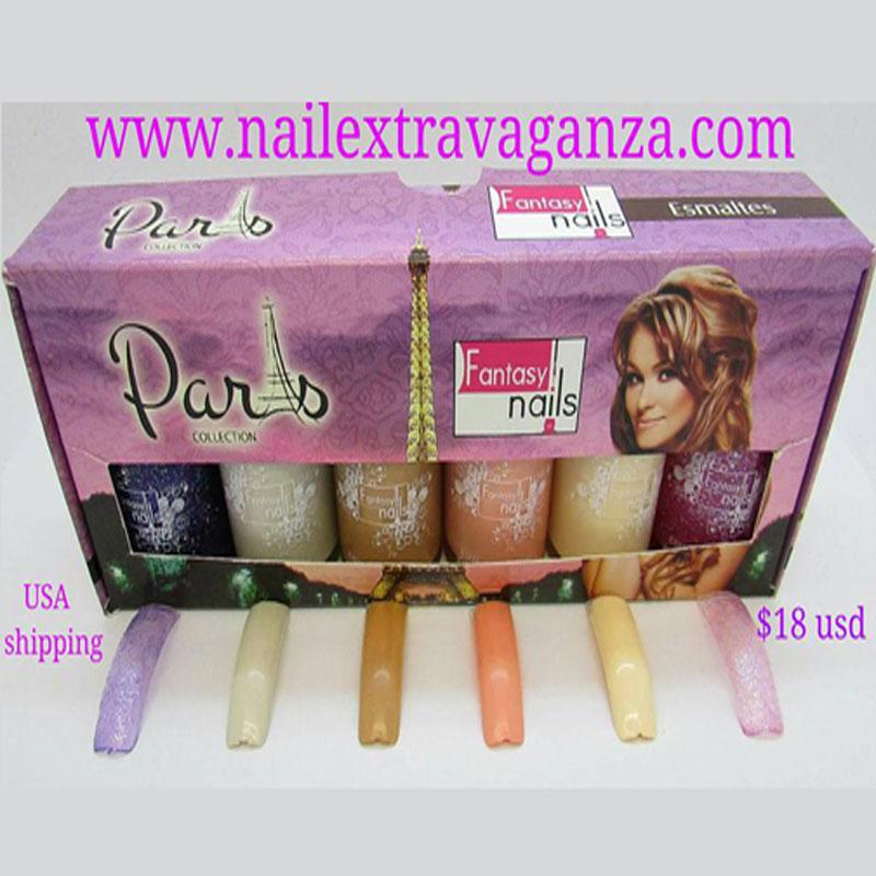 0 Paris Gama Nail Polish Collection from Fantasy - Nail Extravaganza