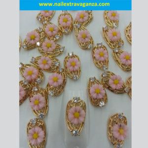 3D-Alloy-Flower-Plate-Decoration