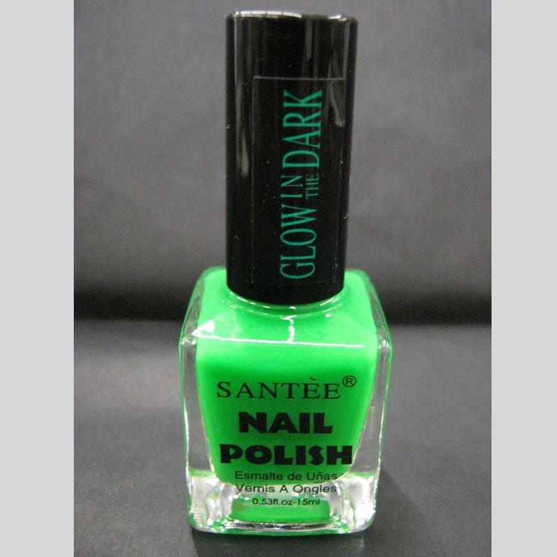 Esmalte Verde que refleja en la obscuridad (Glow in the Dark Nail ...