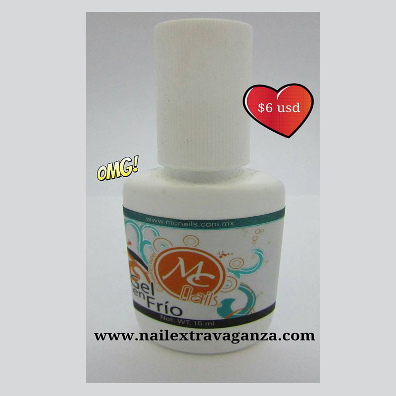 MC Nails Gel en Frio (Resin Glue) 15ml - Nail Extravaganza