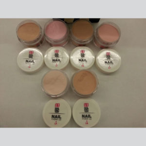 Nail Factory Acrylic Make-Up Collection (6 jars 12oz each) -1