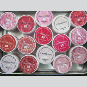 Nail Factory Acrylic and Gel Collection Forever Pink (15 containers)