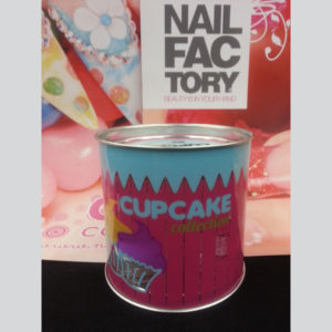 Nail Factory Coleccion Cupcake 8 acrylics 1 free 30 ml monomer -1