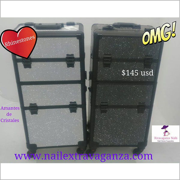 Nail-Makeup-Case-with-Rhinestones