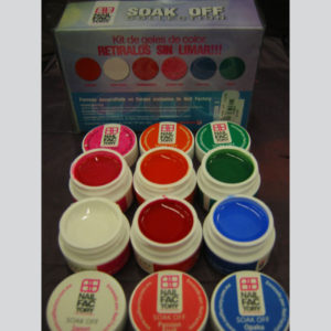 Soak Off Gel Collection (6 containers of 7.5grms) Collection #3