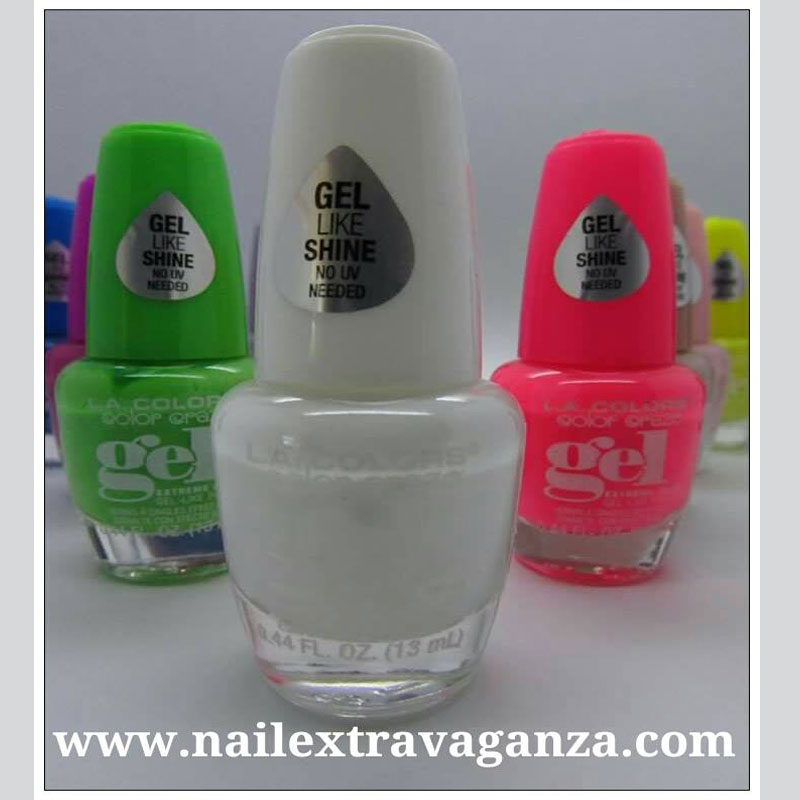 Gel-Like LA Colors (Flurry) 15ml - Nail Extravaganza