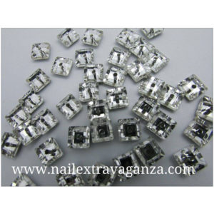 (f)-Square-decoration-rhinestone-with-metal-flat-base-4mm-(2-per-bag)