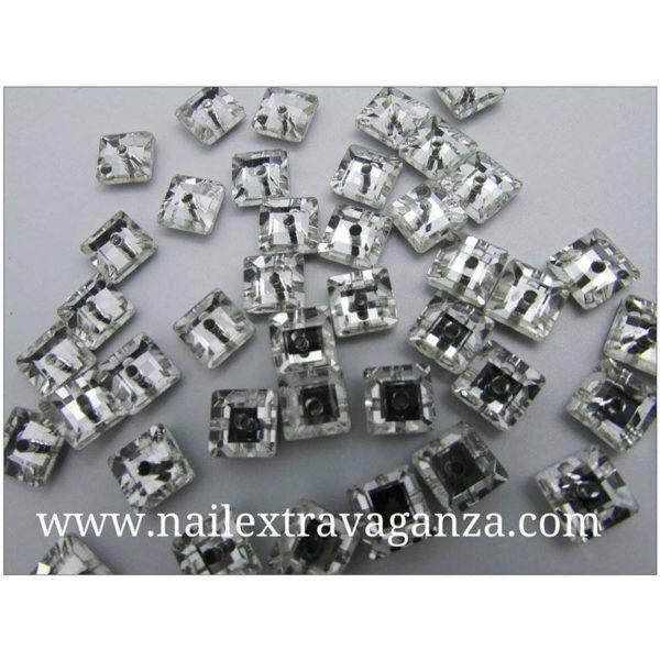 (f)-Square-decoration-rhinestone-with-metal-flat-base-4mm-(2-per-bag)
