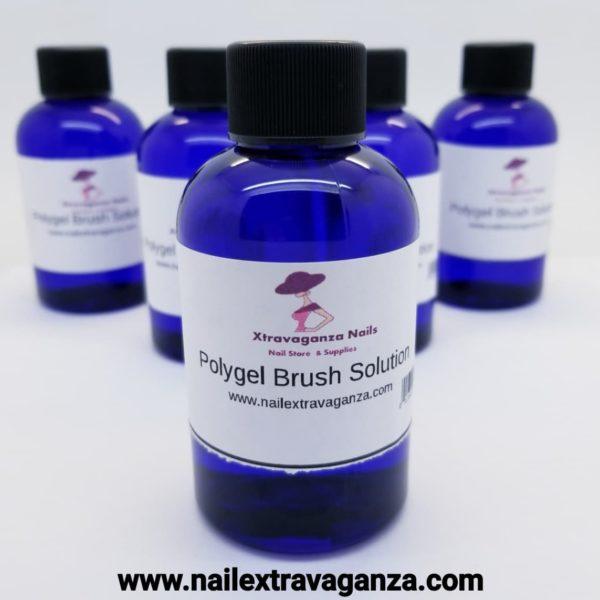 Polygel Brush Solution