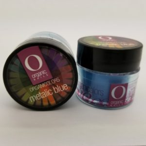 Organic Color Metalic Blue