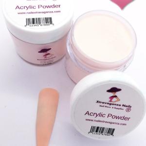 #0 Acrylic Powder 1oz jar Extravaganza Rose Beige
