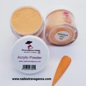 Acrylic Powder Naranja Oro 168