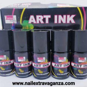 Alcohol Ink Dark Colors