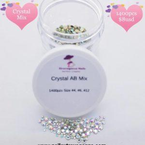 Crystal Mix 1400pcs