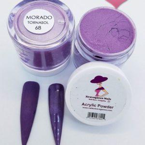 new morado tornasol