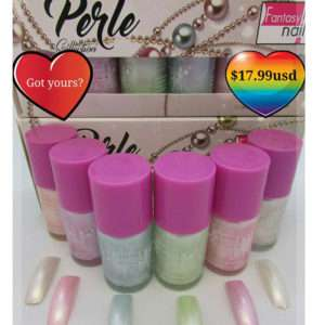 #0 Esmaltes PERLE Collection (6 color bottles 15ml each)