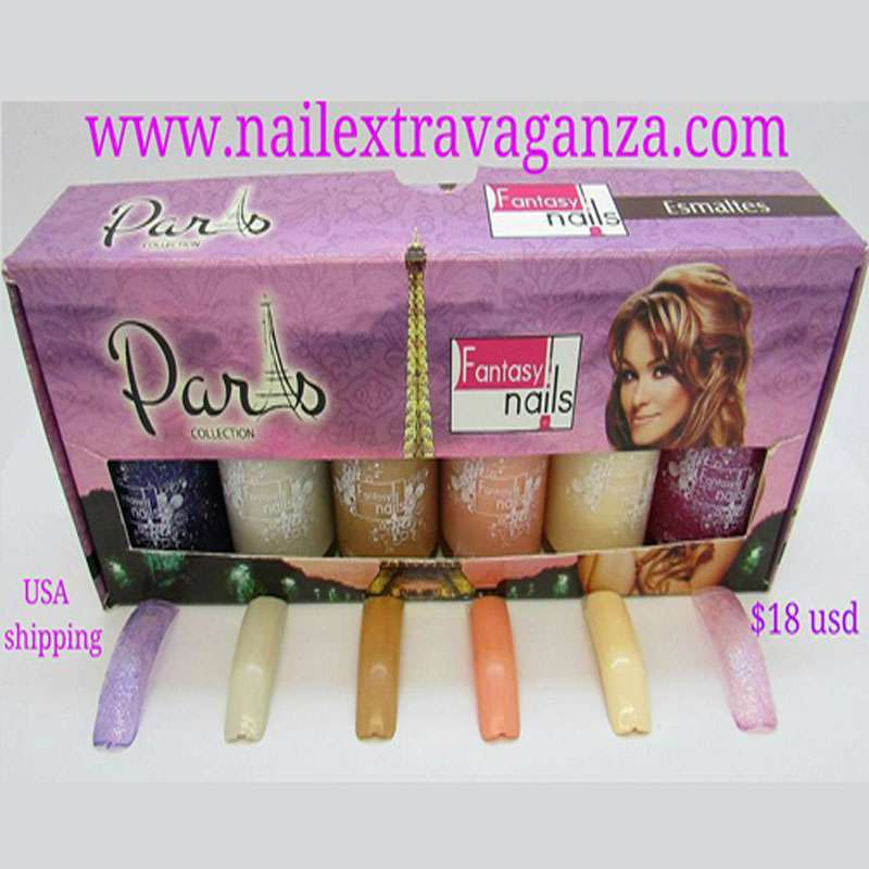 #0 Paris Gama Nail Polish Collection from Fantasy