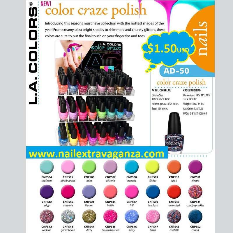 CAD-260 Color Craze Polish