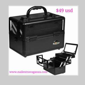 Black Clear Makeup Case - C0009