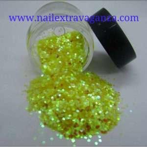 Mini Hexagon Glitter 1/4oz jar