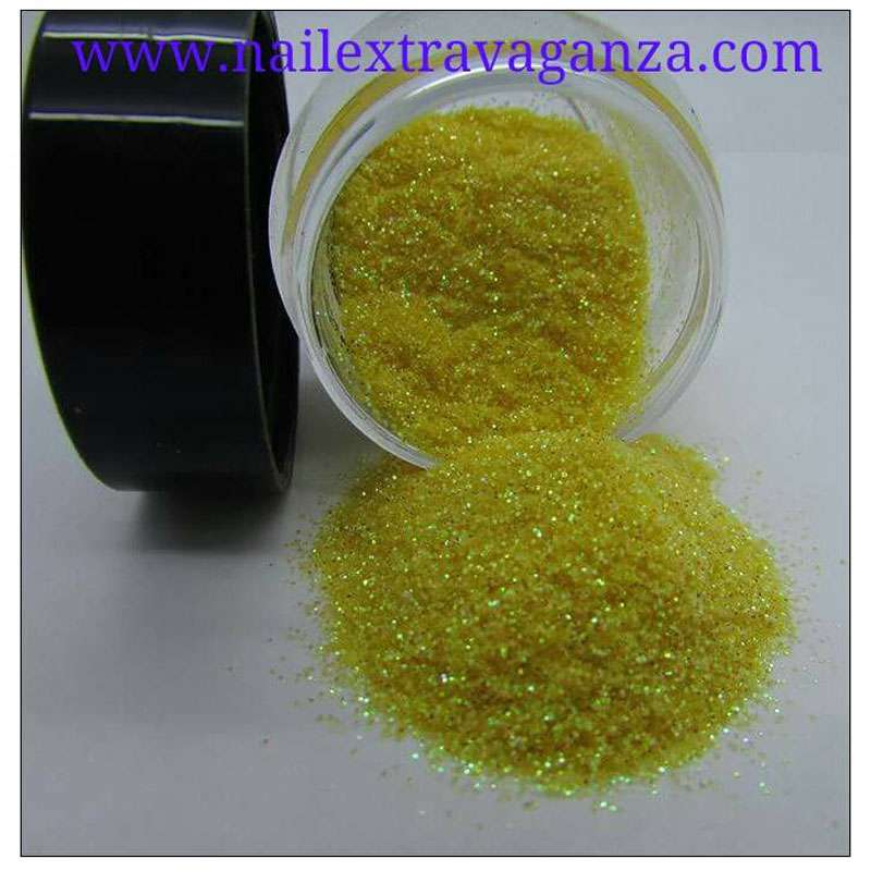 Fine Yellow Glitter 1/4oz jar