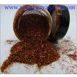 Fine Copper Glitter 1/4oz jar