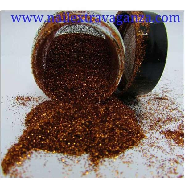 Fine Copper Glitter 1/4oz jar