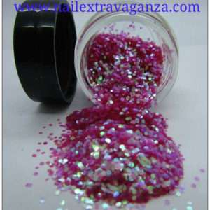 Mini Hexagon Fuscia 1/4oz jar
