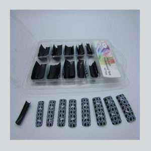 Salon Nail Tips Coach Design 100 pzs. box