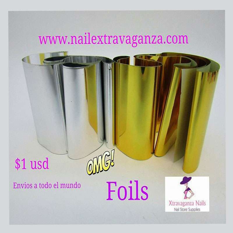 Foil (Gold or Silver)