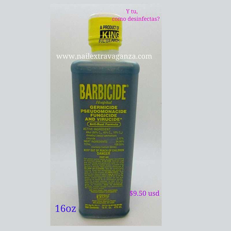 Barbicide Hospital Germicide, Fungucide and Virucide 16oz bottle