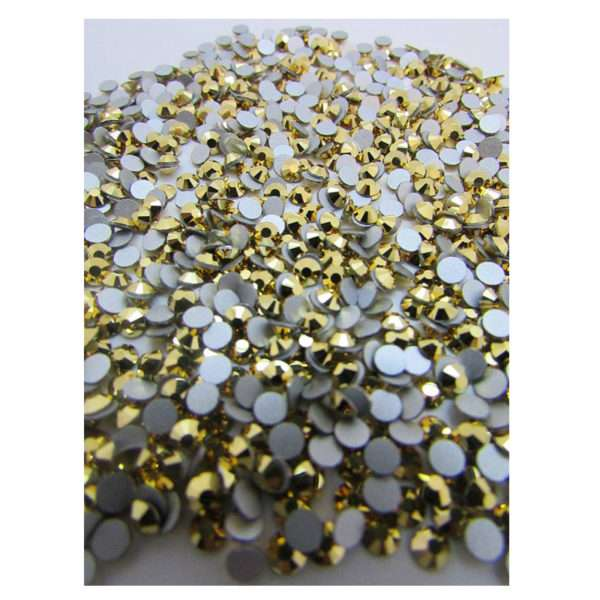 0 Arum Crystals flat back 7mm (1440 pzs) Whole Pack