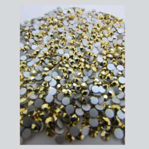 0 Arum Crystals flat back 9mm (1440 pzs) Whole Pack