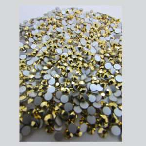 0 Arum Crystals flat back 12mm (1440 pzs) Whole Pack