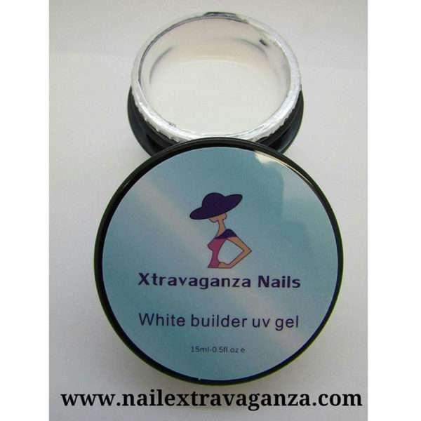 Extravaganza White Builder Gel 1/2 oz