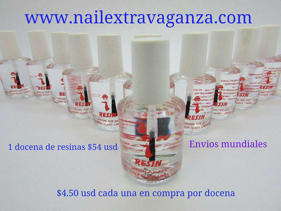 Hollywood Resin Glue For Nail Decoration by dozen.. Get 12 bottles save money