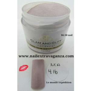 NAKED COLOR ACRYLIC - NCAC416 MAUVE OVER, MY TURN (individual color 1oz)