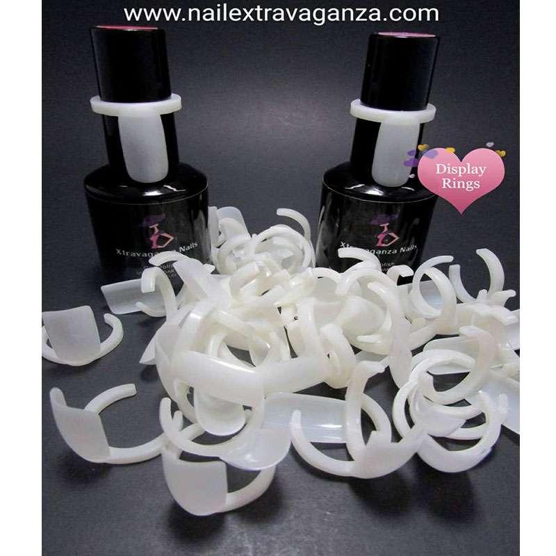 Nail Polish Ring Display (10 pcs)