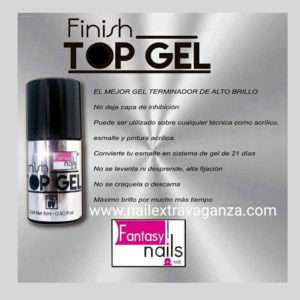 Fantasy Nails UV Gel (15ml) Finish To Gel
