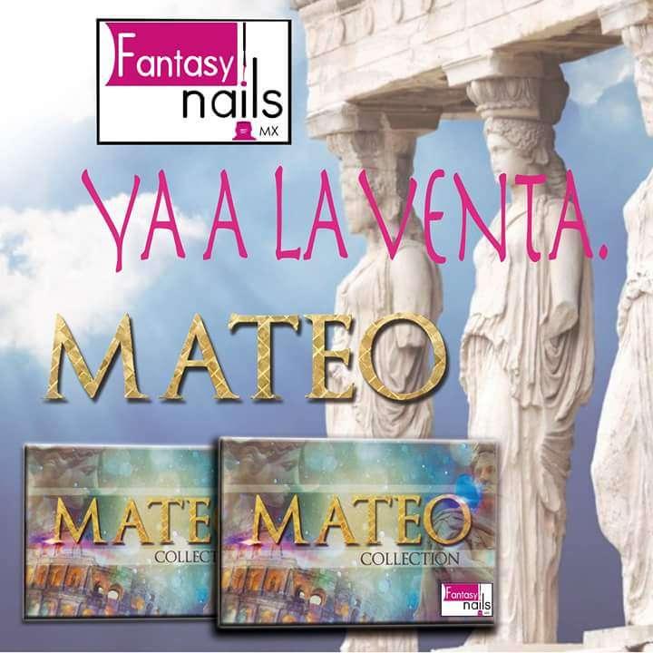 A00 Coleccion de Acrilicos de Mateo de Fantasy Nails de Sinaloa