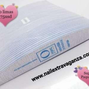 Organic Nails Lima zebra 150/150 (Filer) Pack 50pcs