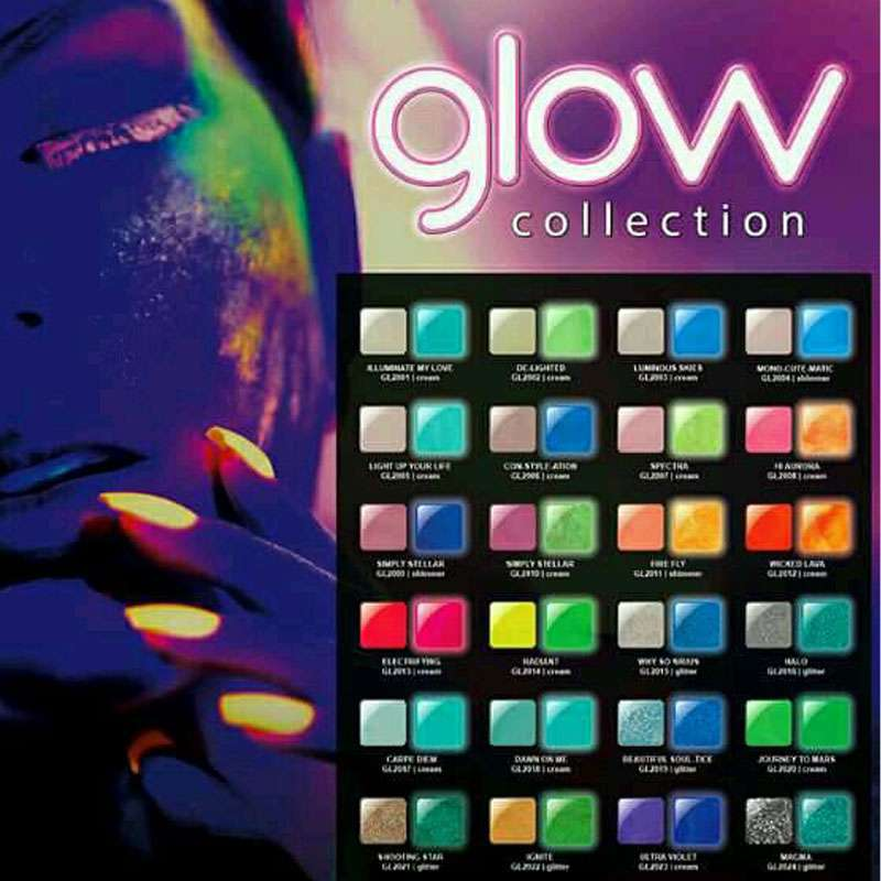Glam and Glits Glow Collection (Choose your Color)