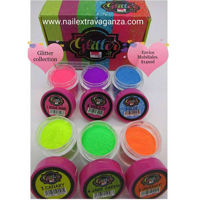 * Glitter Collection Neon