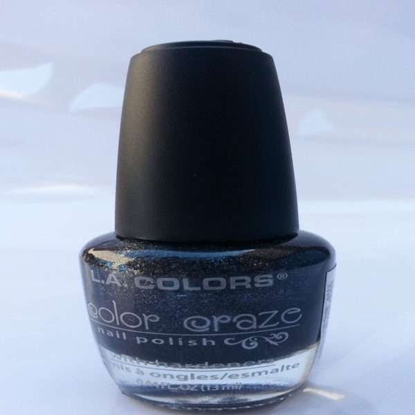 L. A. Color Black Shimmer (13ml)