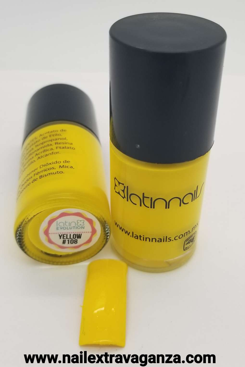 Latin Nails Base Yellow 15ml