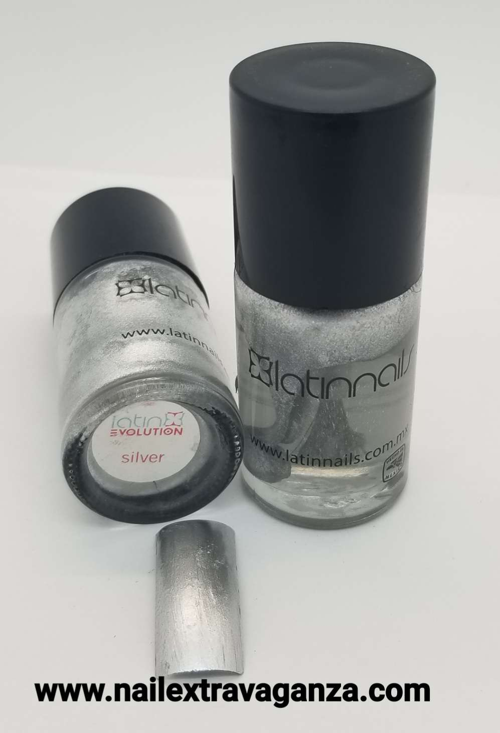 Latin Nails Base Silver 15ml